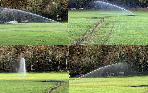 Water Sprinkler System installed at Broxhead