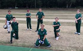 Boys cricket at Grayshott