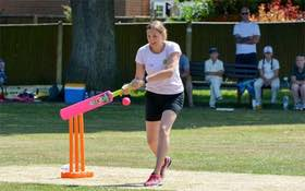 Womens' softball at Grayshott