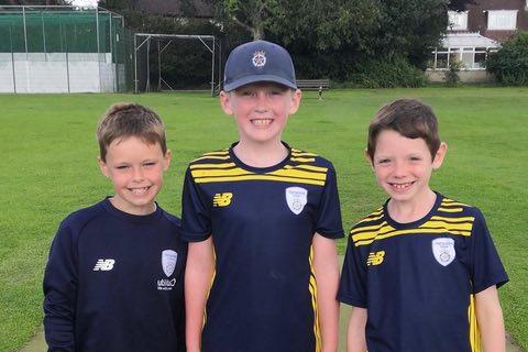 Grayshott U8 trio feature well at Hampshire RPC U9 game