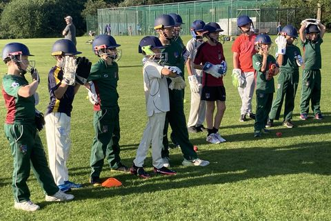 Coaching Session for our Young Wicket Keepers
