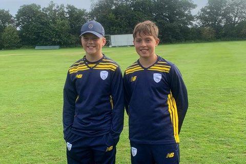 Grayshott duo feature for Hampshire U11s