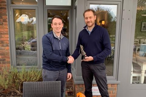 James Tomlinson 2021 Golf Day Winner